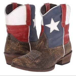Roper Texas Flag Boots
